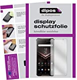 dipos I 6X Schutzfolie klar passend für ASUS ROG Phone Folie Bildschirmschutzfolie