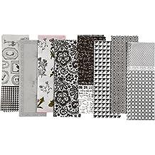 Vivi Gade Paris - Láminas de papel decorativo (25 x 35 cm, 8 unidades), diseños variados