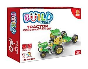 Smart Fox FOX097.UK.CS Juego de construcción de Tractor, Varios