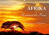 AFRIKA - Kontinent der Poesie (Wandkalender 2019 DIN A2 quer): Weisheiten und Sprichwörter (Monatskalender, 14 Seiten ) (CALVENDO Orte)