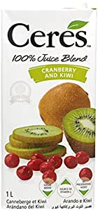 Ceres Cranberry and Kiwi Juice, 1000ml