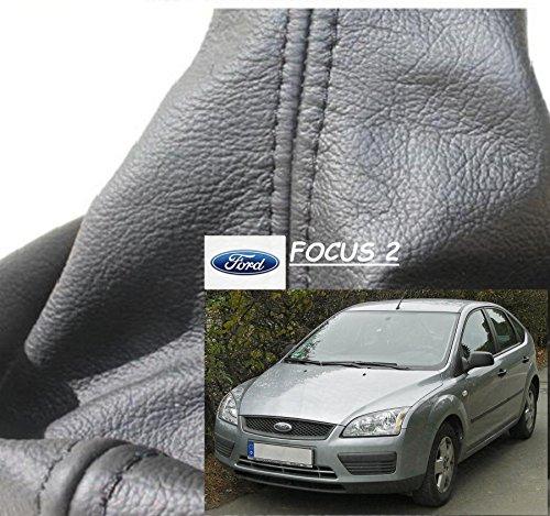 Schaltsack Schaltmanschette für VW Touran Caddy 3 2003-Echt Leder gelbe Faden