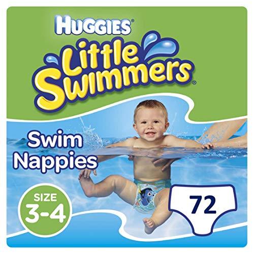 082611419b0b Huggies Little Swimmers desechables pañales de nadar, tamaño 3 - 4 - 72  pantalones total