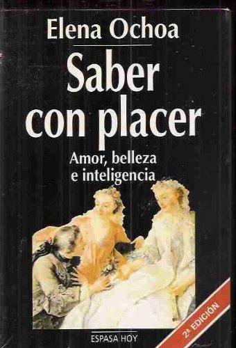 Saber con placer por Elena Ochoa