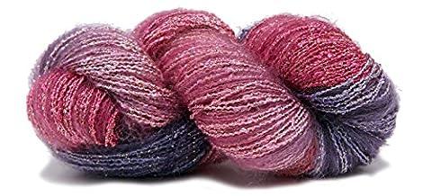 Fiesta Yarns Hand Dyed Starburst La Boheme Yarn, Seashell