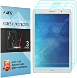 MediaPad T3 8.0 inch Screen Protector, J&D Premium HD Clear Film Shield Screen Protector for Huawei MediaPad T3 8.0 inch (3 Packs)