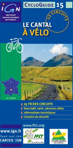 Cantal Dept. Grand Format Cycloguide