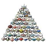 Surtido de multi color cajones de cerámica pomos de las puertas de armario tira de las perillas de...