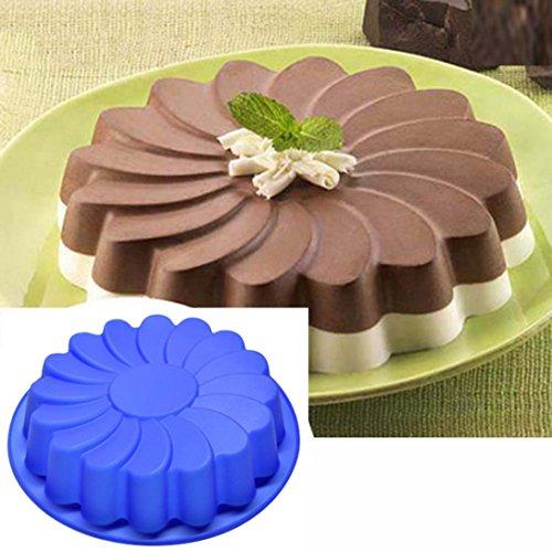 Blume Kuchenform Schokolade Seife Süßigkeiten Geleeform Backform (11 X 13-kuchenform)