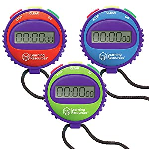 Learning Resources Simple Stopwatch from Learning Resources