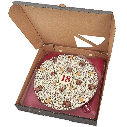18. Geburtstag Schokolade Pizza