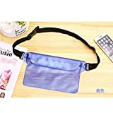Covboa Waterproof Pouch with Waist Strap for Outdoor Sports (Multicolour)