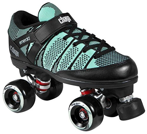 Chaya Rollschuhe, Roller Skates, Emerald Soft, türkis Größe 41 (Vintage Roller Derby Skates)