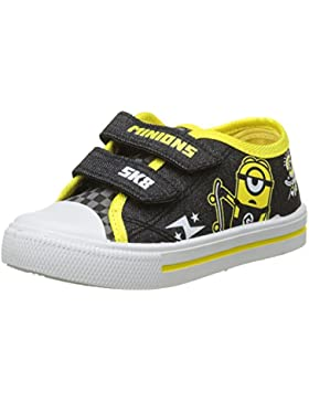 MINIONS Despicable Me Boys Kids Low Sneakers, Zapatillas de Deporte para Niños