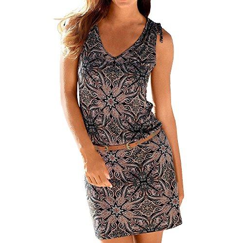 Liebe Für Erwachsene Plus Kostüm - Streetwear Kleid VENMO Damen Festliche elegant