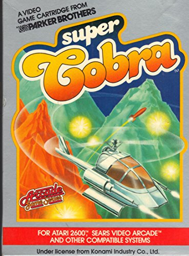 Super Cobra (Atari 2600 Cartridge)
