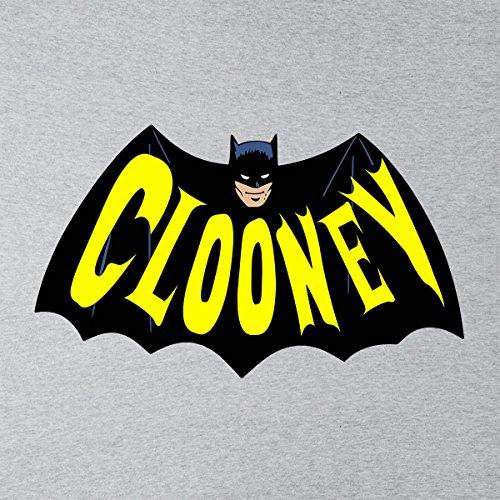 Batman 66 CLOONEY DC Dark Knight Justice League Men's Vest Heather Grey