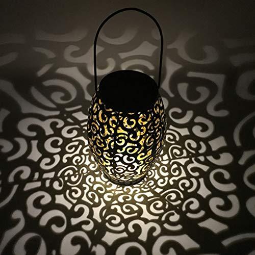ledmomo LED Solar Laterne marokkanischen Silhouette Solarleuchten verheißungsvollen Cloud Landschaft Outdoor Garten Beleuchtung wasserdicht Lampe für Terrasse Hof