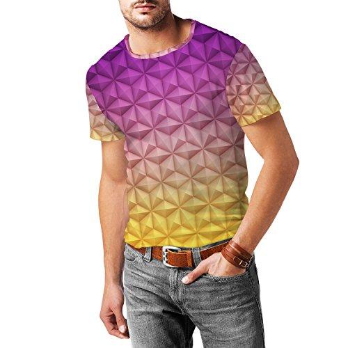 epcot-spaceship-earth-mens-sport-mesh-t-shirt-l-herren-xs-3xl