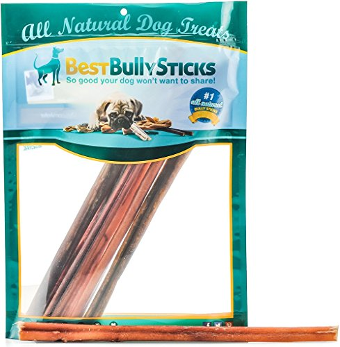 100% Natural 12-inch Bully Pizzle Sticks by Best
