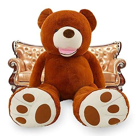 VerCart Grand Nounours Ours en Peluche XXL Teddy Bear Jouet