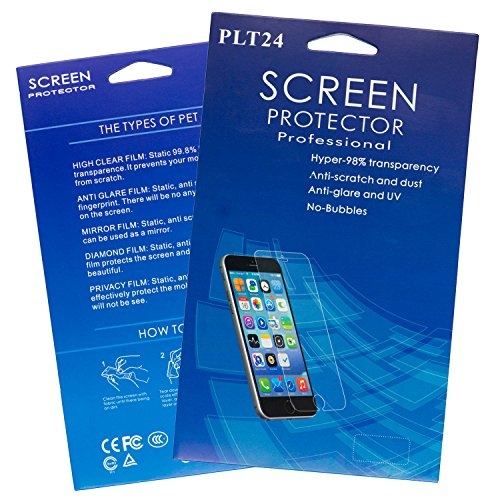 PLT24 Proteggi-schermo in vetro per Apple iPhone/iPad 6x Schutzfolie-Klar