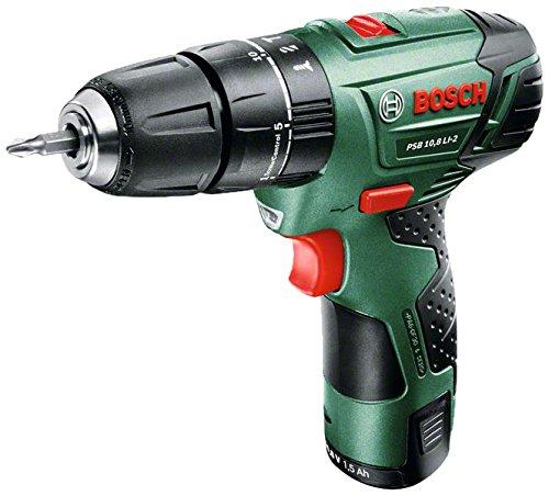 Preisvergleich Produktbild Bosch Schlag-Bohr-Schrauber PSB 10,8 LI-2 / 1-aku mit LaDEGERÄT, 603983920