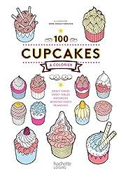 100 Cupcakes à colorier