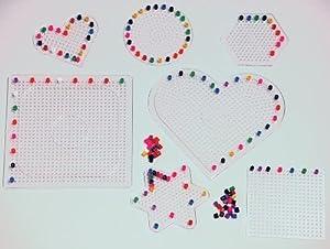 Playbox - pinboards (Transparente) - 7 Piezas - (PBX2455967)