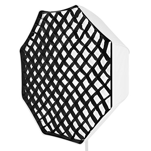 Neewer 80 centimètres Grille Nid dAbeille Octagonal Honeycomb Portable pour Softbox dans Photographie de Portrait et Produit, Tournage de Vidéo (Softbox NON Fourni)
