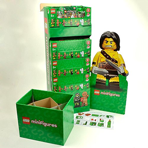 FULL-DISPLAY-SET-of-Unopened-LEGO-Minifigures-Series-11-4-x-Boxes-of-60-71002