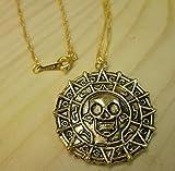 Fluch der Karibik Halskette Azteken Gold Pirates of the Caribbean Jack Sparrow