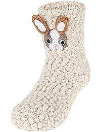 EOZY Niños Calcetines Invierno Primavera Partones de Animales