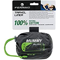 Ferrino Saco Sabana Interior Algodon Travel Mummy
