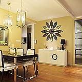 Estilo europeo sala pared ideas con estilo forja pared reloj colgante retro decoración de la pared