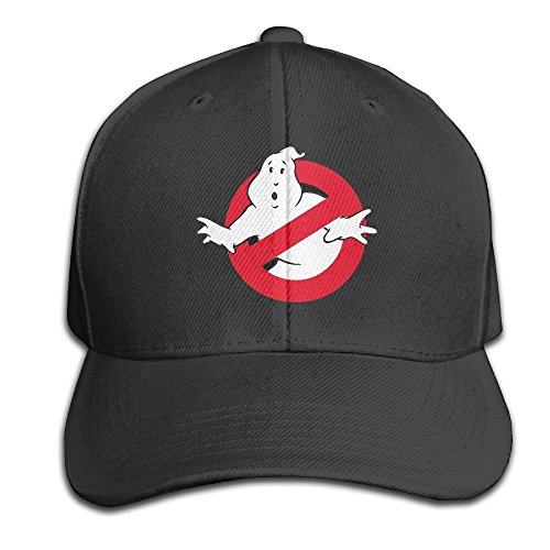 Hittings Cool Ghostbusters Logo 2016 Movie Baseball Cap Peaked Hat  Adjustable For Unisex Black Black 20d07a2510e0