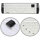 WSS–Precisión Regla cizalla para cortador de papel A4Rotary Foto Tarjeta Etiqueta manualidades