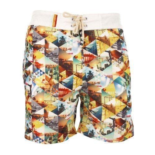 South Shore 1S3849 Almere Short de bain pour homme Multicolore - Bigarré