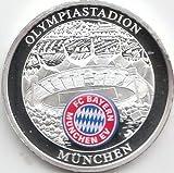 Medaille FC Bayern München Polierte Platte Olympiastadion (Münzen für Sammler)