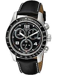 Tissot Herren-Armbanduhr Chronograph Quarz Leder T039.417.16.057.02