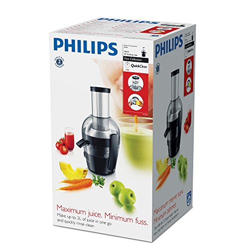 Philips HR1855/00 - Licuadora Viva Collection 700 W, 2 litros, orificio extragrande, tecnología QuickClean