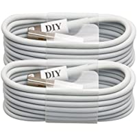 iPhone 5S Cable, Cell Phone DIY APPLE CERTIFIED USB Sync