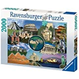 Ravensburger Puzzle - New Wonders Of The World (2000 pieces)