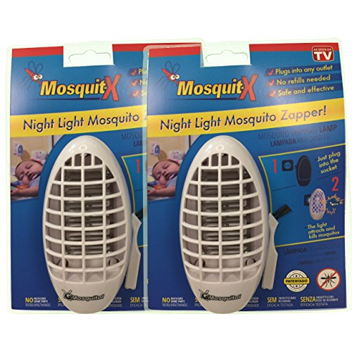 Mosquit-x Lámpara Antimosquitos Pack ahorro X2 Antimosquitos sin productos químicos ideal para...