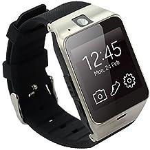 Tera Aplus Pulsera Reloj Inteligente GSM Podómetro Selfie Control Remoto con Pantalla Táctil 1,54¡± NFC Compatible con Smartphone iOS iPhone Android Samsung