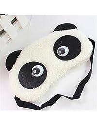 24x7 eMall Dreamy Eyes Panda Sleep Mask (White, Eye-Pad 02 Panda Eyes 24x7 eMall)