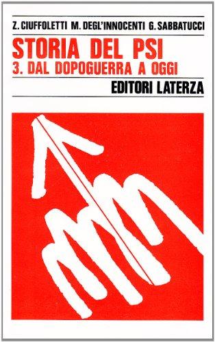 Storia del PSI: 3 (Storia e società) por Zeffiro Ciuffoletti