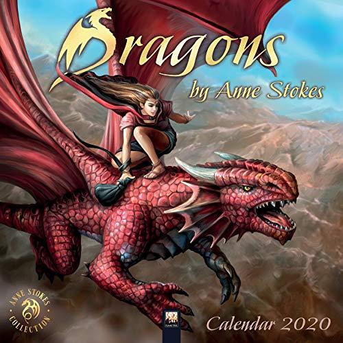Dragons by Anne Stokes - Drachen von Anne Stokes 2020: Original Flame Tree Publishing-Kalender [Kalender] (Wall-Kalender)