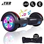 "YHR 2 Wheels 6.5"" Self-Balancing Hoverboards for Kids and Adults"