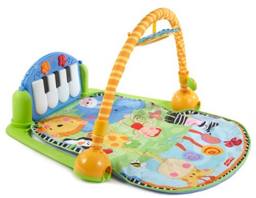 Fisher-Price Discover 'n Grow Kick and Play Piano Gym (Discontinued by Manufacturer) by Fisher-Price